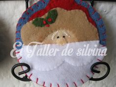 Reno, Merry Christmas, Santa, Wreaths, Yule Decorations, Holiday Ornaments, Thread Holder, Cup Holders, Noel