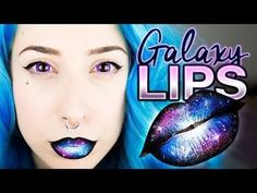 Galaxy Lips Tutorial - #galaxylips #liptutorial #lippies
