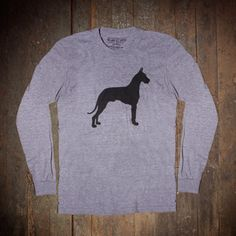 @Jenn, long sleeved version:  Great Dane Long Sleeve Tee, $40, now featured on Fab.