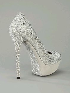 Bling shoes! I like these!!!!!·♥♡♥♡