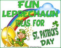 long list of fun things to do for your kids on st. patricks day