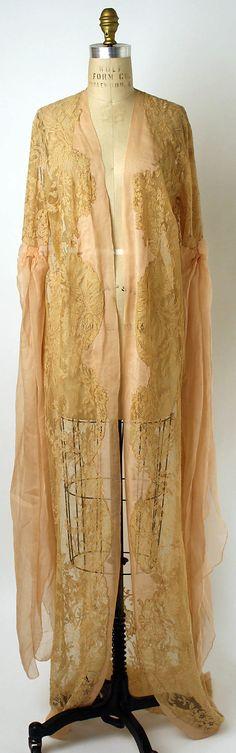 Dress (Tea Gown)  Date: 1920s Culture: American or European
