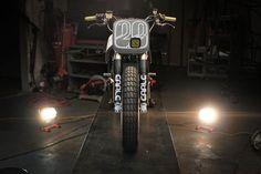 "RocketGarage Cafe Racer: Ducati Tracker ""Il Mostro"" by Earle Motors"