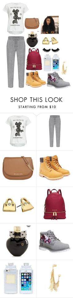 """Learn your life lesson"" by rasheeda-rehna ❤ liked on Polyvore featuring Neff, MICHAEL Michael Kors, Timberland, Kate Spade, Aéropostale, Jules Smith, women's clothing, women, female and woman"