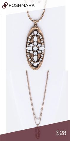 "Arriving Soon Paved Crystal Pendant Necklace Set Have a crystal pendant necklace. Necklace is 30 inches plus extension. 0.75"" Drop Matching Earrings. Lead & Nickel Compliant. Jewelry Necklaces"