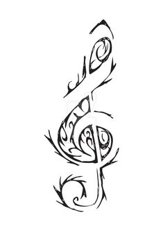 treble clef by SkarlettFury on DeviantArt
