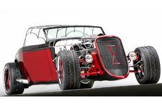 Black Widow Car - Paul Jr Designs
