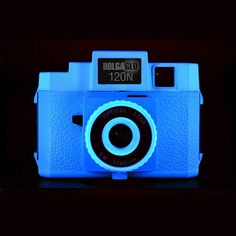HolgaGlo 120N Electric Blue now featured on Fab. Makes dreamy photos