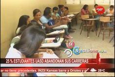 25% De Estudiantes UASD Abandonan Sus Carreras #Video