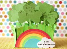 Cute St. Patrick's Day lucky shamrock patch by Lisa Storms -- love this!!