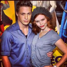 Colton and Holland Roden
