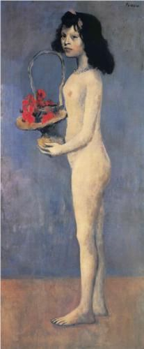 Pablo Picasso Blue Nude 109