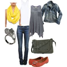 I wore this on 04/20/12, created by jenoeh on Polyvore