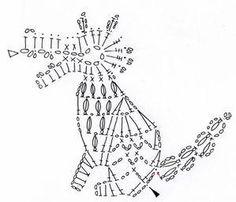 Mesmerizing Crochet an Amigurumi Rabbit Ideas. Lovely Crochet an Amigurumi Rabbit Ideas. Marque-pages Au Crochet, Crochet Wolf, Crochet Amigurumi, Crochet Motifs, Crochet Diagram, Crochet Chart, Thread Crochet, Irish Crochet, Crochet Animals