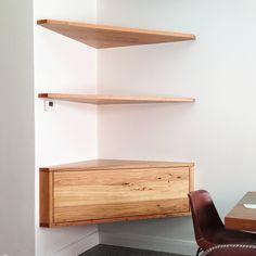 35 Essential Shelf Decor Ideas (A Guide to Style Your Home) # # - Corner Shelves - Ideas of Corner Shelves Corner Tv Shelves, Corner Shelves Living Room, Diy Corner Shelf, Corner Tv Unit, Floating Corner Shelves, Corner Tv Cabinets, Corner Space, Corner Wall, Wood Shelves