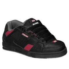 GLOBE Sabre black dark red chaussures renforcées 99,00 € #skate #skateboard #skateboarding #streetshop #skateshop @playskateshop