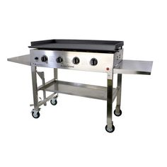 Outdoor Griddle Cooking Station Flat Top Propane Gas Grill
