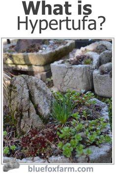 What is Hypertufa? Rock Planters, Diy Concrete Planters, Concrete Garden, Diy Planters, Mosaic Flower Pots, Mosaic Pots, Mosaic Garden, Garden Art, Pebble Mosaic