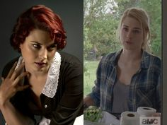 Alexandra Breckenridge is listed (or ranked) 2 on the list 31 Times You've Seen The Walking Dead Actors Before Walking Dead Actors, The Walking Dead, Moira O Hara, Alexandra Breckenridge, The Hundreds, Breaking Bad, American Horror Story, Celebrities, Times