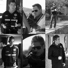 CSI Nick Stokes (George Eads) and Greg Sanders (Eric Szmanda). Grimm, Eric Szmanda, Csi Crime Scene Investigation, Designated Survivor, Pokemon, American Series, First Tv, Book Tv, Criminal Minds