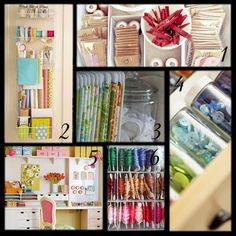 all great ideas for cute organization