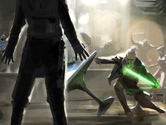 Rahm Kota Battle - Pictures & Characters Art - Star Wars: The Force Unleashed