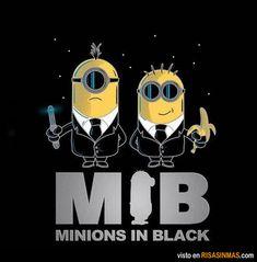 Minions in Black.