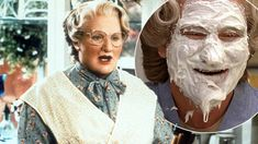 The director of Mrs Doubtfire has come clean about a ruder version of the family film. Mrs Doubtfire, Chris Columbus, Robin Williams, Ex Wives, Documentaries, Movie Tv, Interview, Film, Movie
