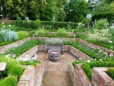 Design#5001251: So einen senkgarten möchte ich unbedingt anlegen! | plants & ideas .... Senkgarten Sitzplatz Gestalten Modern