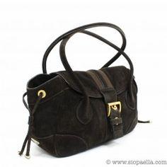 Prada Brown Suede Shoulder Bag Siopaella Designer Exchange Dublin  You can shop onlin http://siopaella.com/ or call us on 01-6779106 or 01-5550119