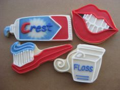 and these would definitely make kids wants to see their dentist too!!!