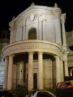 Rome, Italy Chiesa di Santa Maria della Pace