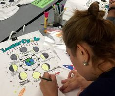 """I can't say enough about how engaged my students were during this project!  You would think painting 100 lunar cycle t-shirts would be no easy task. On the contrary! Your website made everything from sending home order sheets, placing the order, buying the materials, to actually painting the shirts one of the smoothest projects I have done with fourth graders. Thank you again for an awesome experience!"""" Lisa Webster - Lancaster"""