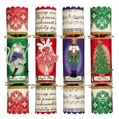 Meri Meri Nutcracker Crackers. The 20 Best Christmas Crackers 2012 via WeeBirdy.com #Christmas #Crackers