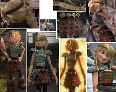 """"""" Astrid Hofferson Cosplay Refs and Help! """" How To Train Your Dragon The Skirt: Romanesque. Is believed to be made up of two layers. The top is red leather with silver spikes. The two first layers of. Astrid Cosplay, Dragon 2, Romanesque, How To Train Your Dragon, Httyd, Best Cosplay, Dreamworks, Short Film, Good Movies"""