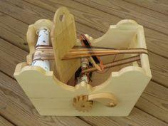 new cradle loom Inkle Weaving, Weaving Tools, Inkle Loom, Card Weaving, Tablet Weaving, Weaving Projects, Woodworking Shop, Woodworking Projects, Finger Weaving