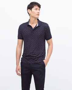 ZARA - MAN - SHORT SLEEVE POLO SHIRT