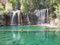 Hanging lake, Colorado (USA).