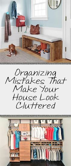 Do you ever get the feeling, even when your house is totally clean, that it still feels cluttered? Well to help with this problem I have come up with some of the most common mistakes that give your home that cluttered feel! And for the record…remember these are just suggestions! Sometimes a little clutter is ... [Read more...]