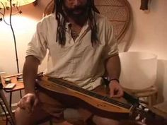 """Bing Futch performs """"Rosin The Beau"""" on mountain dulcimer. [Video note: this was recorded and posted before I began the """"Dulcimerica"""" series, one of four exp. Mountain Dulcimer, Mountain Music, Dulcimer Music, Hammered Dulcimer, Whistles, Musical Instruments, Tin, Play, Youtube"""