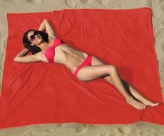 The Biggest & Best Beach Blanket Ever