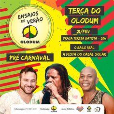 Pré Carnaval do Olodum é o melhor do BRASIL! Passe na loja Planeta Olodum e adquira o seu ingresso! #PlanetaOlodum #Olodum