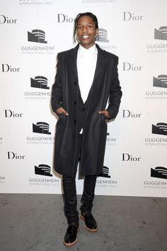 "A$AP Rocky ""Our team really likes this man. He always know how to dress. Trendsetter. Big love!"" Clothingjoy.com team"
