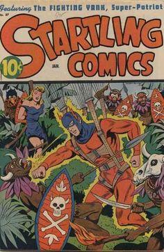 Startling Comics (Volume) - Comic Vine