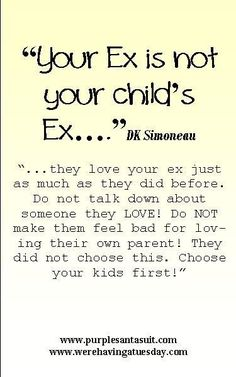 """""""Your Ex is not your child's ex"""" - Read the book that helps kids that go back and forth between divorced parents!"""