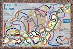 Japan (fan expansion to Ticket To Ride)