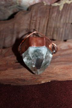 Chapada diamantina: chlorite crystal on recycled by crystalflow
