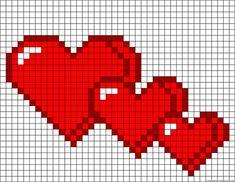 Mini Cross Stitch, Cross Stitch Heart, Cross Stitch Cards, Cross Stitch Borders, Cross Stitch Flowers, Modern Cross Stitch, Counted Cross Stitch Patterns, Cross Stitching, Cross Stitch Embroidery