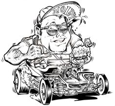92 best car toons images drawings of cars car drawings caricatures Chris Craft Boat Plans rat fink coloring pages cartoon rat cartoon pics cars coloring pages coloring books