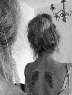 I have always wanted angel wings tattoo. I want to get small angel wings and something else.....very meaningful to me